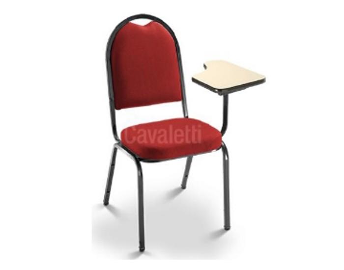 Cadeira Aproximação 1002 - Com prancheta - Espuma Expandida - Linha Coletiva - Cavaletti