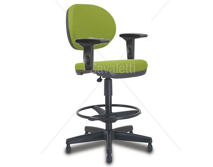 Cadeira giratória caixa 8223 BKG - SRE com Braço - Linha Stilo - Cavaletti