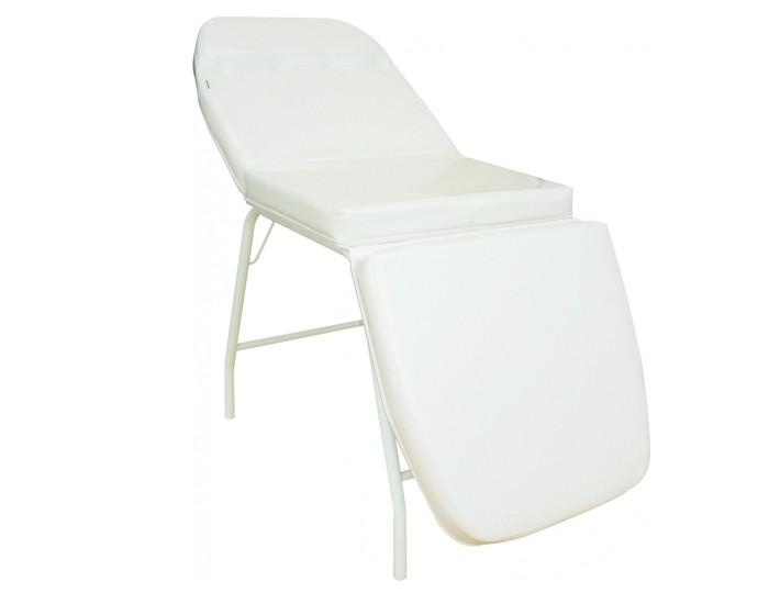 Cama de Massagem - 03 Posições - Extra Grande - Reclinável - Branca - Marcos Móveis