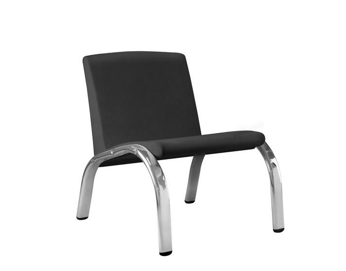 Cadeira Fixa HAR10 - Base Fixa Cromada - Sem Braço - Linha Harmony Lounge - Frisokar