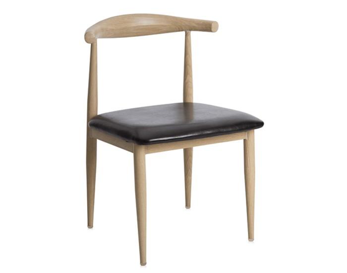 Cadeira ANM 6610F - Estrutura em Aço - Estofada - Anima Home & Office