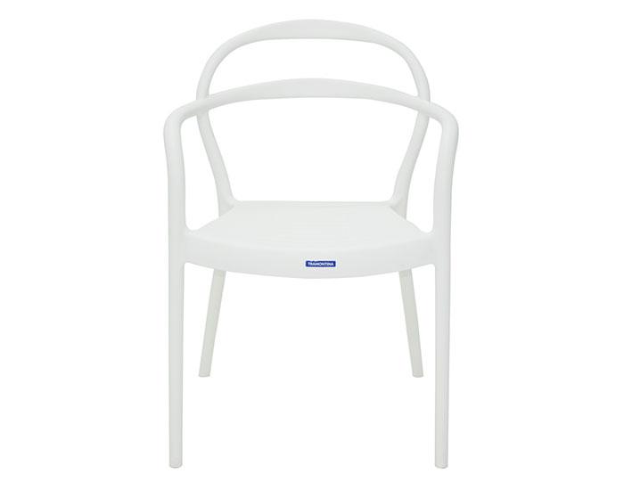 Cadeira Tramontina Sissi com Braços em Polipropileno e Fibra de Vidro -