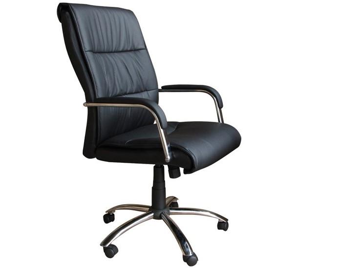 Cadeira Presidente - Base Cromada - Relax - Pelegrin
