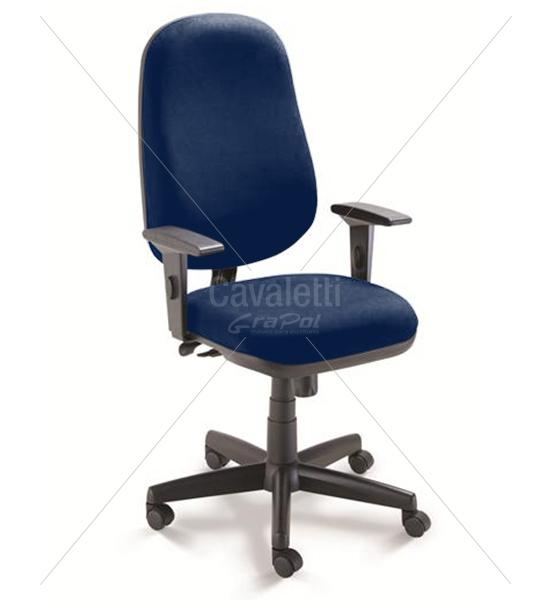 Cadeira para escritório giratória presidente 4001 RELAX Braço SL inj. - Linha Start - Cavaletti - Base Polaina