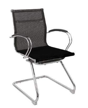 Cadeira para escritório fixa de aproximação - BLUME 2686 - Base SKI Cromada