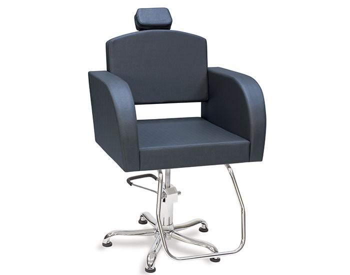 Cadeira Capri - Encosto Fixo - Com Cabeçote - Kixiki Móveis -