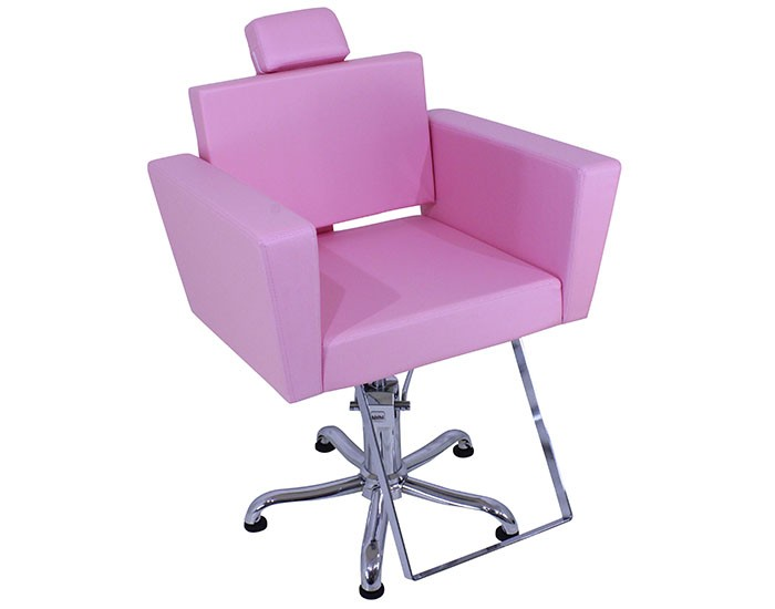 Cadeira Niágara - Encosto Fixo - Com Cabeçote - Sem Descanso de Pernas - Kixiki Móveis -