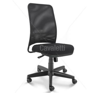 Cadeira para escritório giratória diretor 16002 - Syncron - Linha NewNet - Cavaletti - Base Polaina