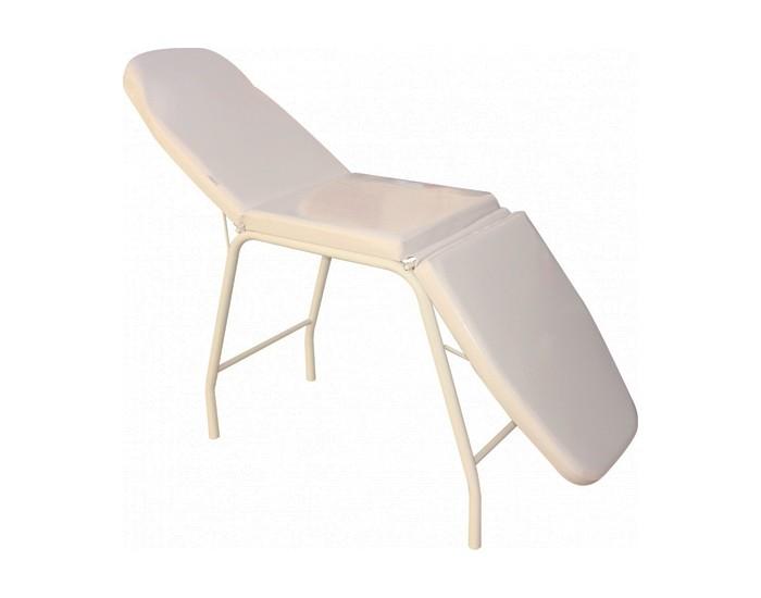 Cama de Massagem - 03 Posições - Reclinável - Branca - Marcos Móveis