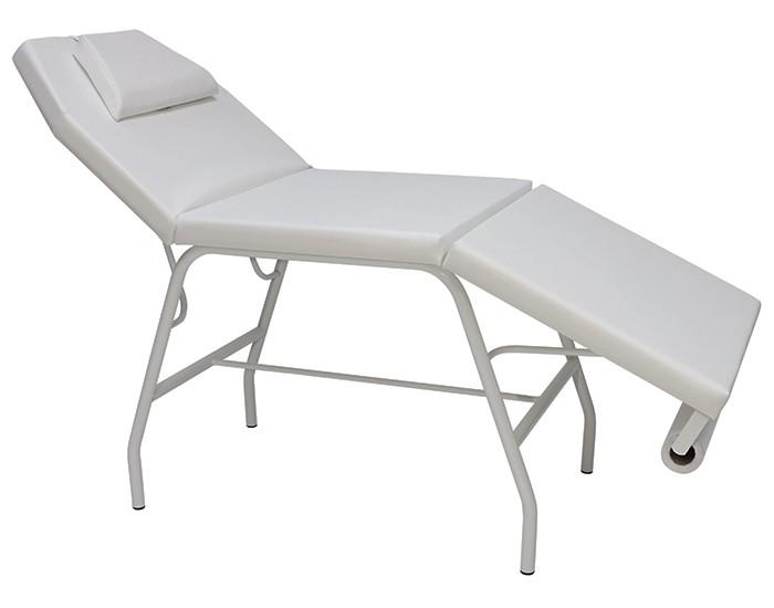 Poltrona Estética - Encosto Reclinável - Descanso de Pernas Reclinável - Almofada para Cabeça - Kixiki Móveis