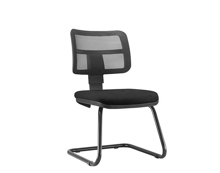 Cadeira Fixa ZIPFX297- Base SKL - Linha ZIP - Sem Braço - Encosto em Tela - Frisokar