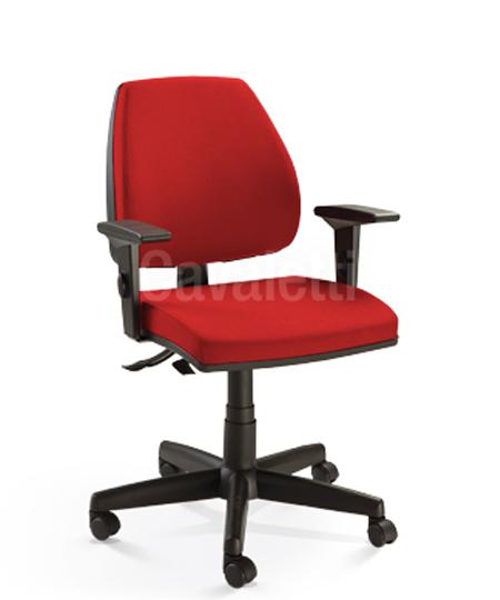 Cadeira para escritório giratória Diretor 38003 SRE - Linha Pro - Braço SL -  Cavaletti - Base Polaina