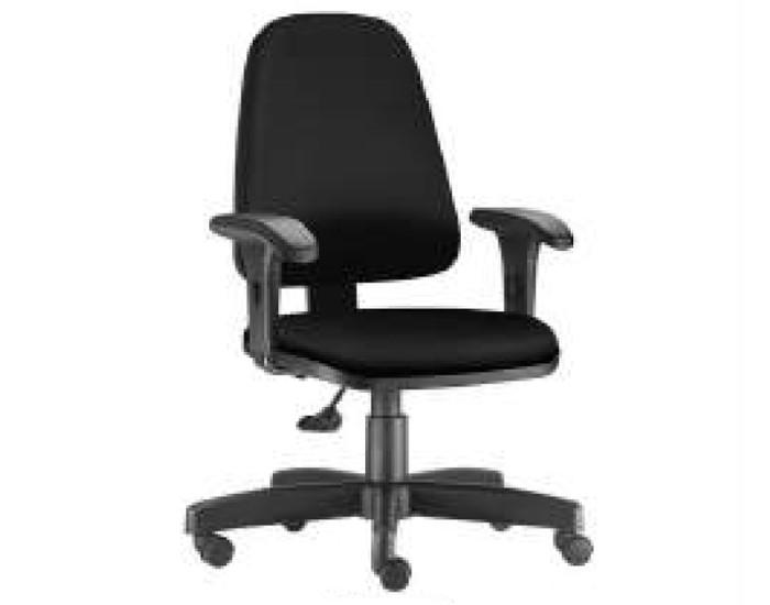 Cadeira Para Escritório Presidente Giratória SKY360 - Mecanismo Base a Gás - Base Metálica com Capa - Linha SKY- Com Braço PP - Frisokar