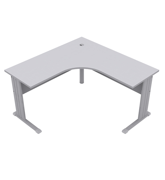 Mesa Angular 1214 Direito Office 25mm - 1200mm X 1400mm X 740mm