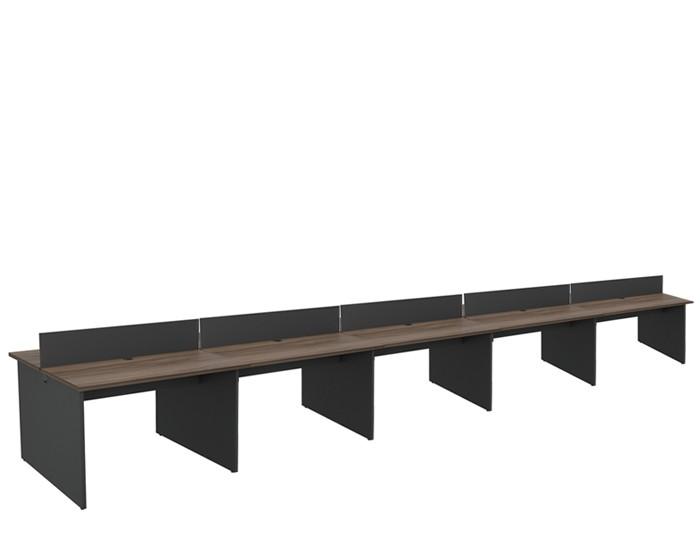 Plataforma Componível Central 10 Lugares 25 mm