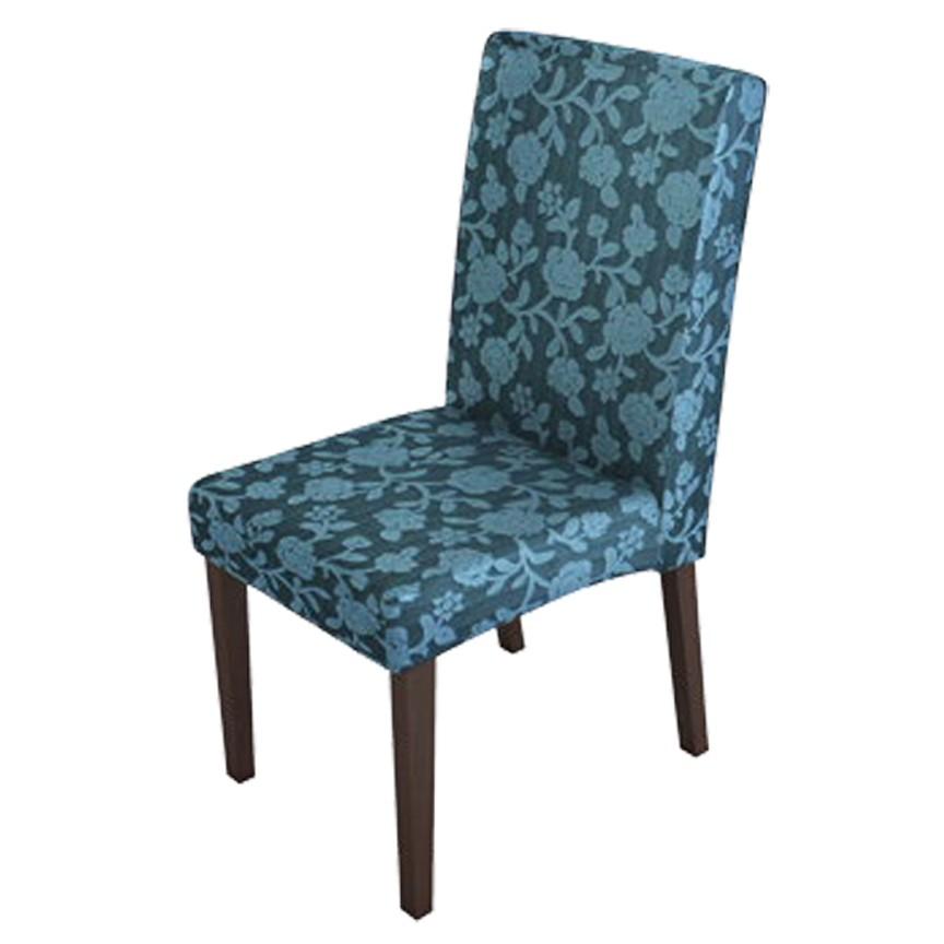 Cadeira Gisa Almofadada, Base de Madeira, s/ Braço