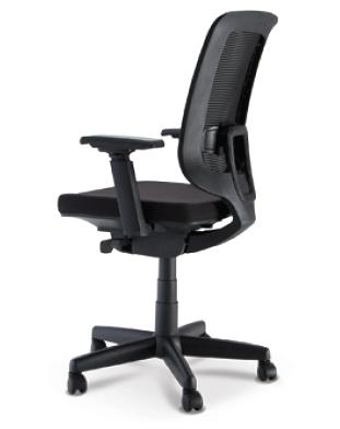 Cadeira para escritório giratória presidente 28001 - Syncron - BRAÇO 4D - Linha C3 - Cavaletti - Base Polaina -