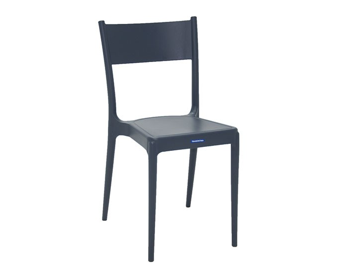 Cadeira Tramontina Diana Satinada sem Braços em Polipropileno e Fibra de Vidro