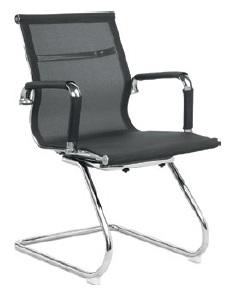 Cadeira para escritório fixa de aproximação - BLUME 02 - Base SKI Cromada