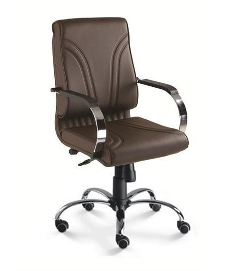 Cadeira para escritório giratória diretor 20002 RELAX  - Linha Master - Cavaletti - Base Aranha Elíptica