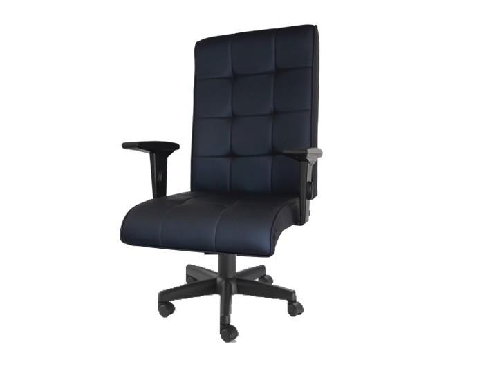 Cadeira para Escritório Presidente Atria Relax c/ trava, aranha Polaina, braços SL reguláveis, rodízios PU.