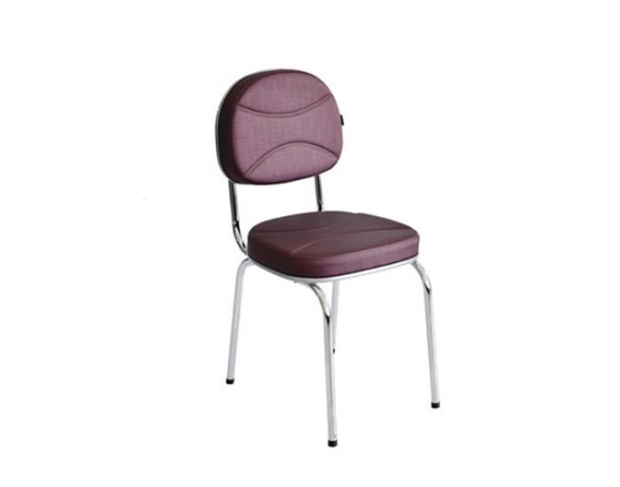 Cadeira Splendore - Estrutura em Cromada - Terra Santa Móveis