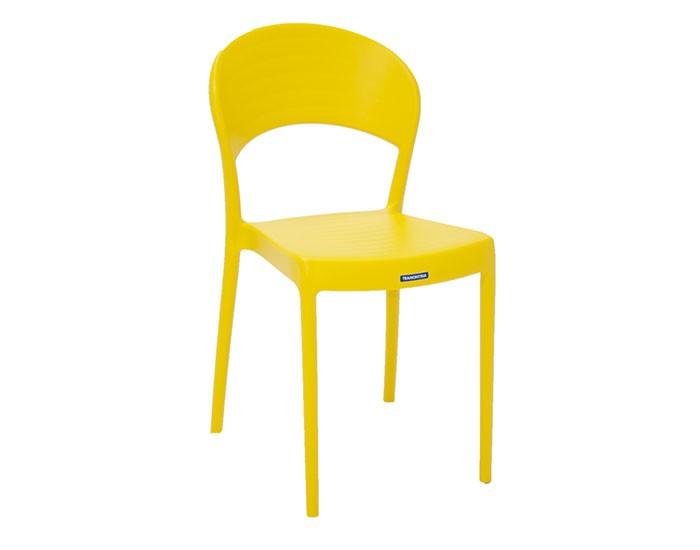 Cadeira Tramontina Sissi sem Braços Encosto Fechado em Polipropileno e Fibra de Vidro