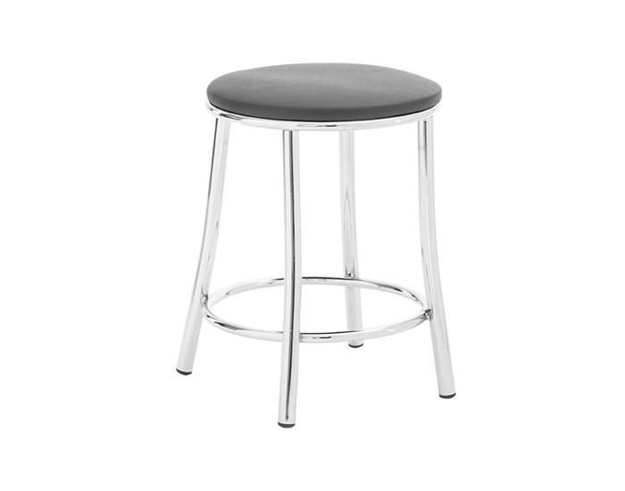 Banqueta Bar 031 - Sem Encosto - 45cm - Assento Estofado -
