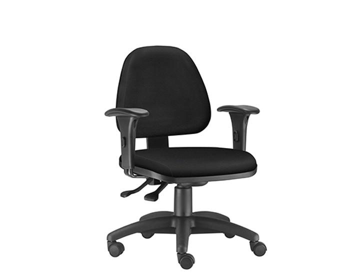 Cadeira Para Escritório Diretor Giratória SKY267 - Mecanismo Evolution - Base Nylon - Linha SKY- Com Braço PP - Frisokar