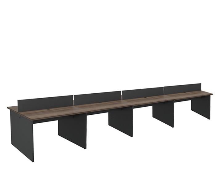 Plataforma Componível Central 8 Lugares 25 mm