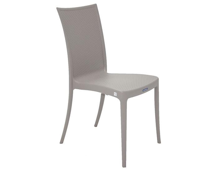 Cadeira Tramontina Laura Ratan sem Braço em Polipropileno e Fibra de Vidro