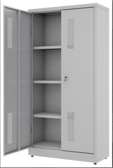 Armário de Aço - RAA408  - 2 portas -  Com 3 PRATELEIRAS REGULÁVEIS - 1330  x 760 x 330mm -