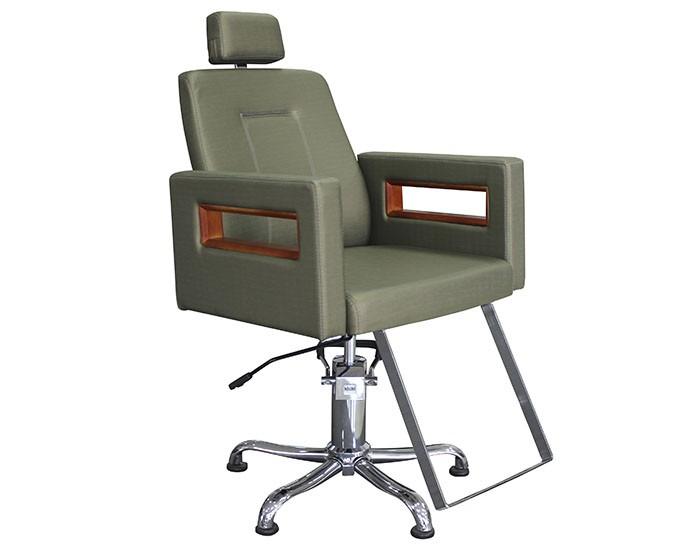 Cadeira Lisboa - Encosto Reclinável - Com Cabeçote - Kixiki Móveis