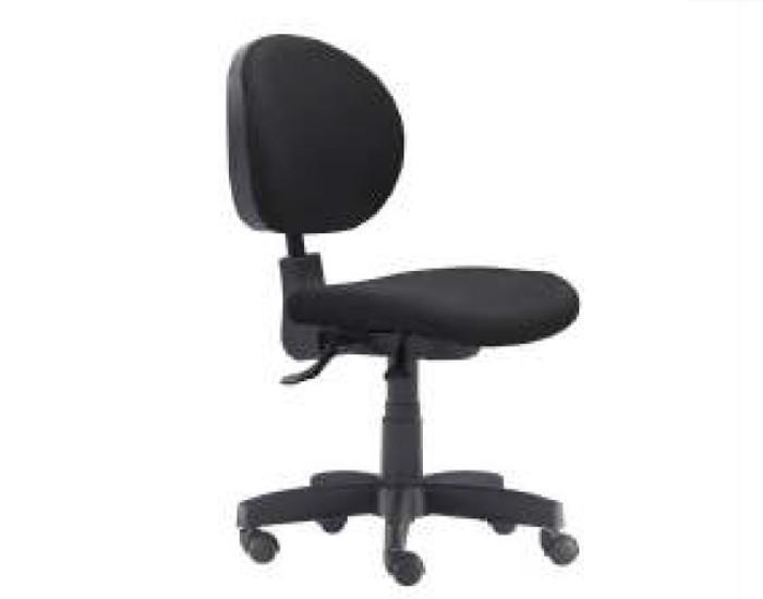 Cadeira Para Escritório Diretor Giratória KPO2036 - Mecanismo Standard - Base Metálica com Capa - Linha 323- Sem Braço - Frisokar