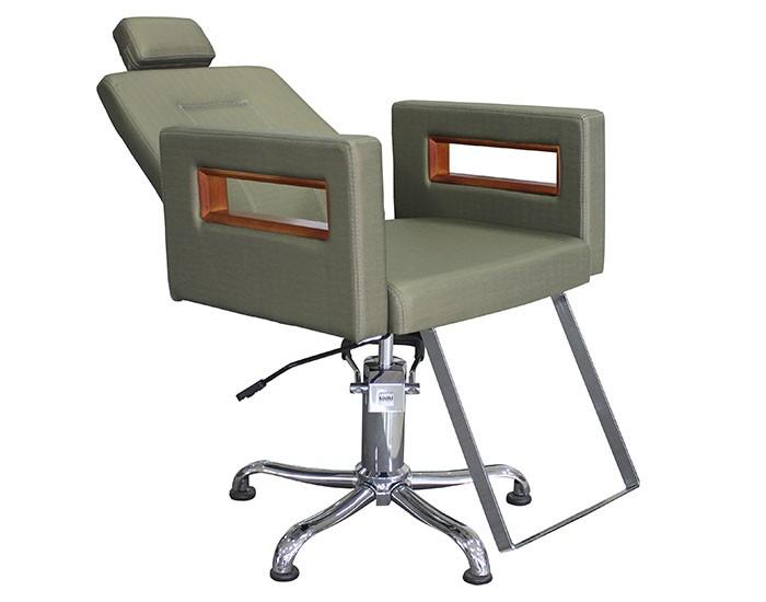 Cadeira Lisboa - Encosto Reclinável - Com Cabeçote - Kixiki Móveis -