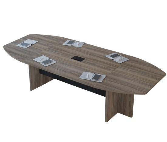 Mesa de Reunião Semi Oval UP - 2400mm x 1200mm x 750mm