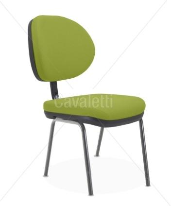 Cadeira para escritório fixa aproximação  8207 P - Linha Stilo - Cavaletti