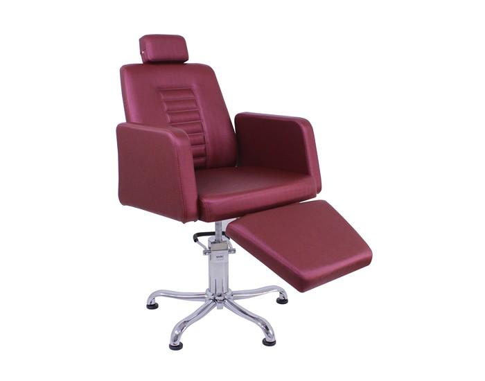 Cadeira Loren - Encosto Reclinável - Com Cabeçote - Com Descanso de Pernas - Kixiki Móveis